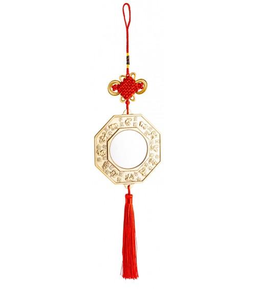 Miroir Feng Shui Qilin Porte Bonheur