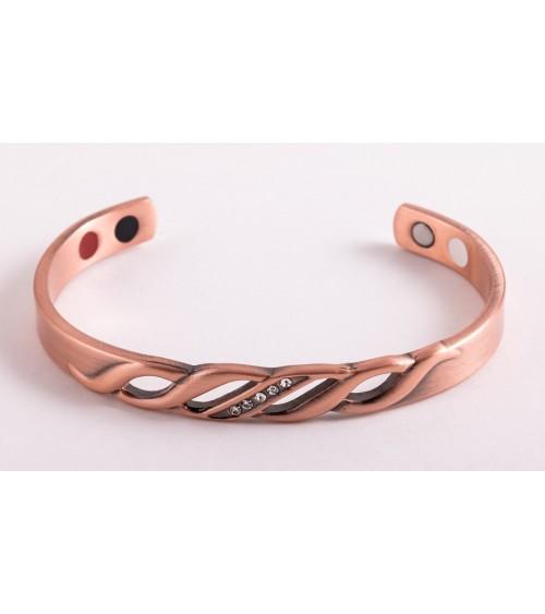 Bracelet en cuivre 4 en 1