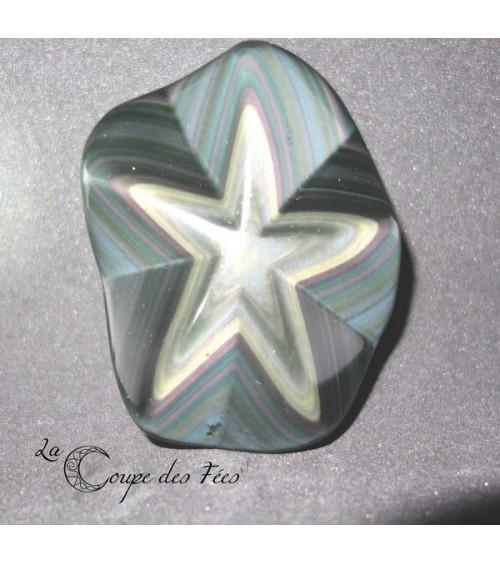 Obsidienne Oeil Céleste étoile 2