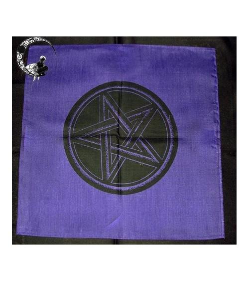 Nappe violette Pentagramme