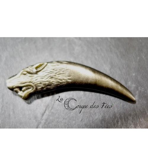 Pendentif dent de loup 1