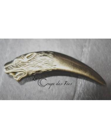 Pendentif dent de loup 3