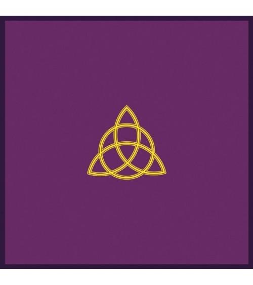 Nappe Violette Triple Déesse (80x80)