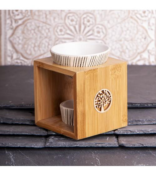 Brule parfum Yggdrasil bambou et céramique