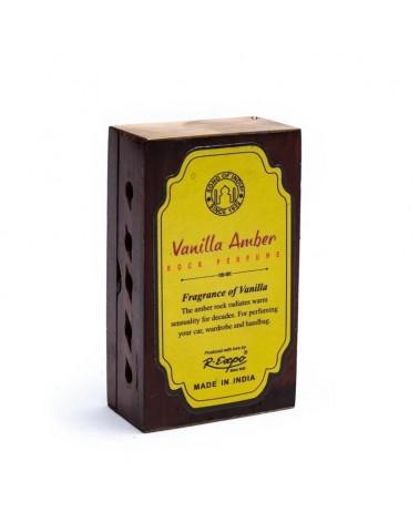 Encens Résine -Vanille Ambre + diffuseur en bois
