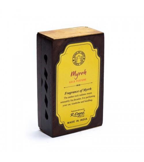 Encens Résine - Myrrhe + diffuseur en bois