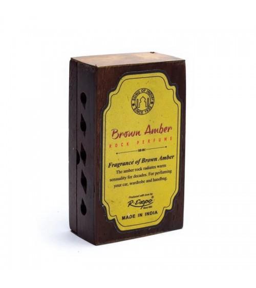 Encens Résine - Ambre + diffuseur en bois