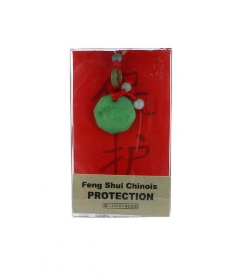 Porte-bonheur Feng-shui Jade Protection abondance