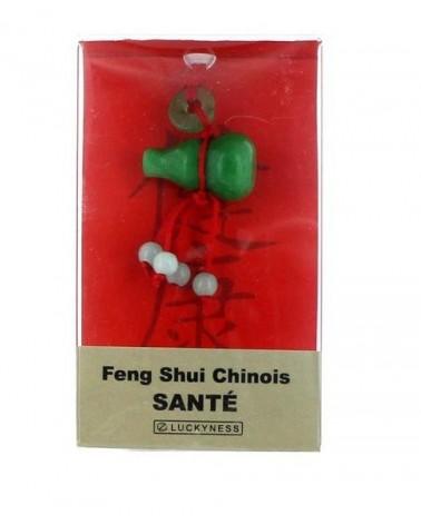 Porte-bonheur Feng-shui Jade santé