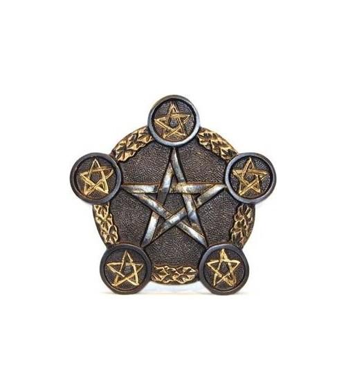 Grand Bougeoir Pentagramme