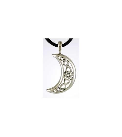Pendentif Lune Celtique