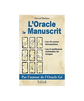 Oracle le Manuscrit - livre