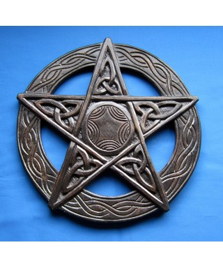 Grand Pentacle en Bois