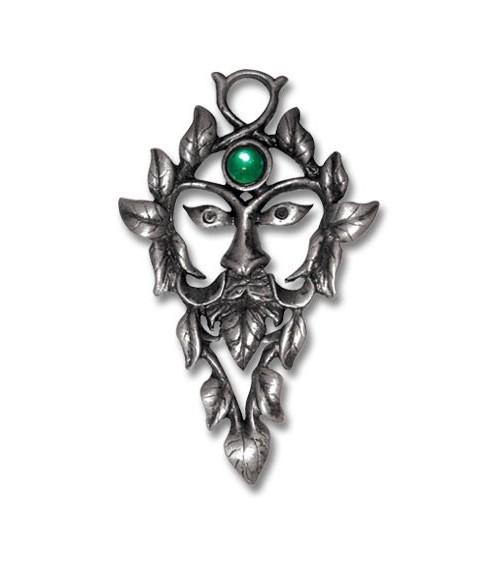 Pendentif Homme Vert
