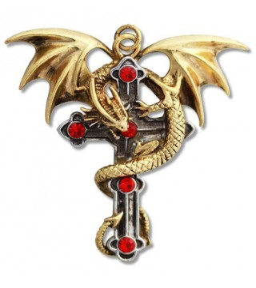 Pendentif Croix du Dragon