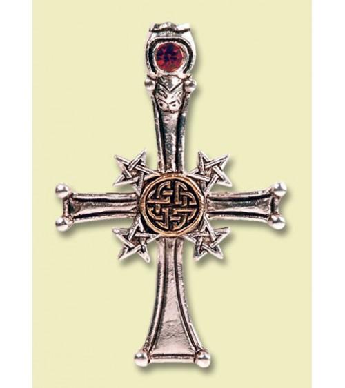 Pendentif Croix Celtique Pentagramme