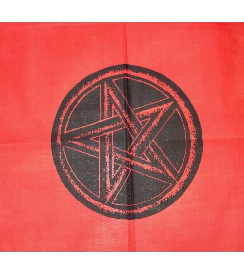 Nappe Pentagramme Rouge