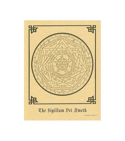 Poster Sigillum Dei Aemeth