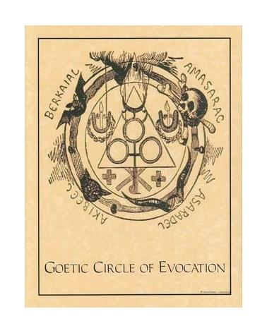 Poster Cercle d'évocation Goetique