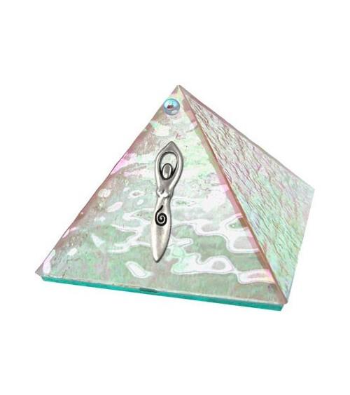 Pyramide Déesse en Cristal