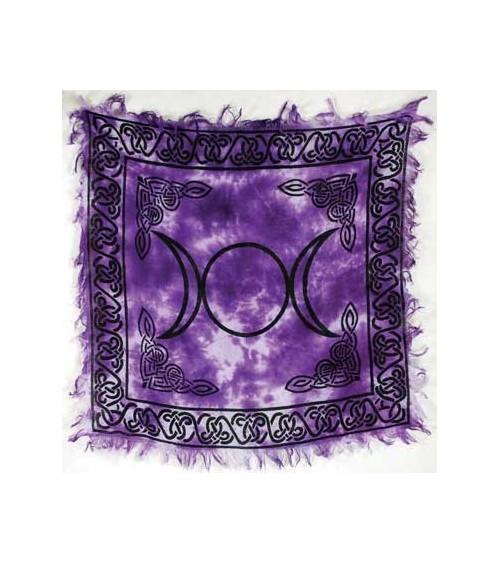 Nappe Triple Lune Violette