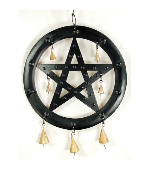 Mobile Pentagramme à cloches