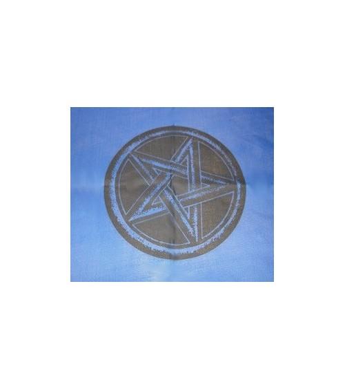 Nappe Pentagramme Bleue