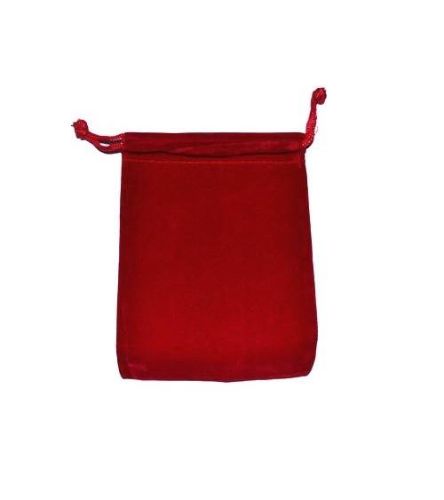 Bourse Velour Rouge (GM)