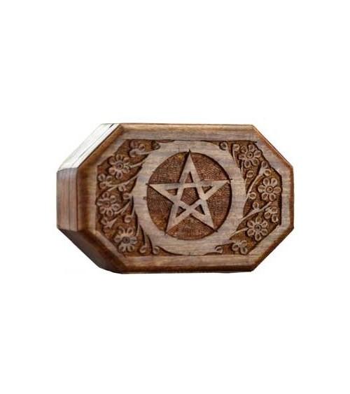 Coffret Pentagramme en Bois (GM)