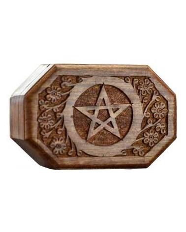 Coffret Rose Pentagramme