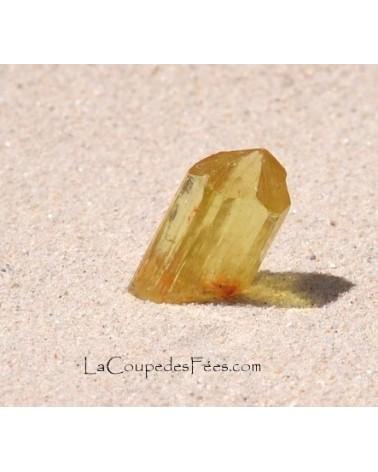 Apatite Jaune Cristal Gemme