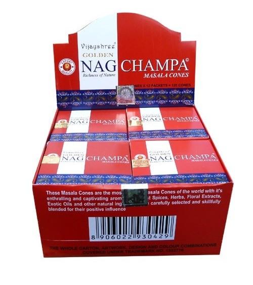 Cones Golden Nag Champa