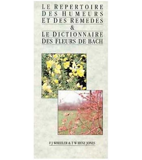 Répertoire humeurs fleurs de Bach
