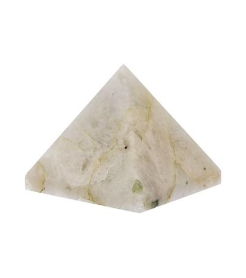 Pyramide Labradorite Blanche