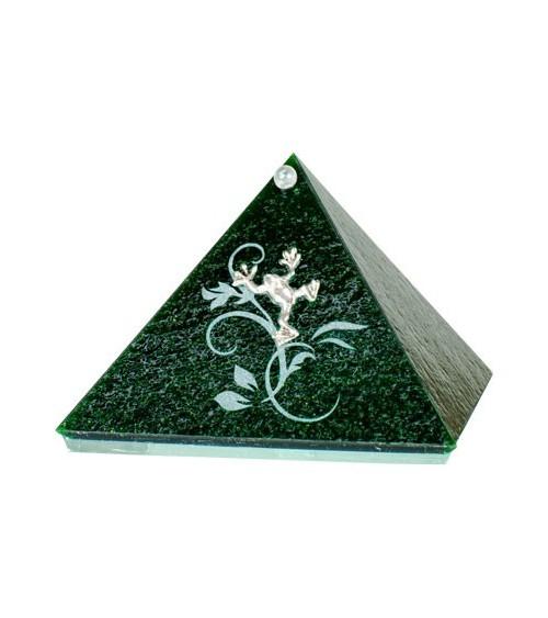 Pyramide Grenouille verte