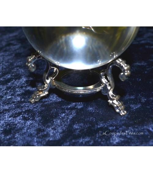 Support Boule de Cristal métal