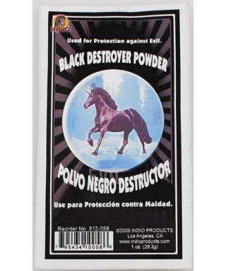 Poudre Black Destroyer