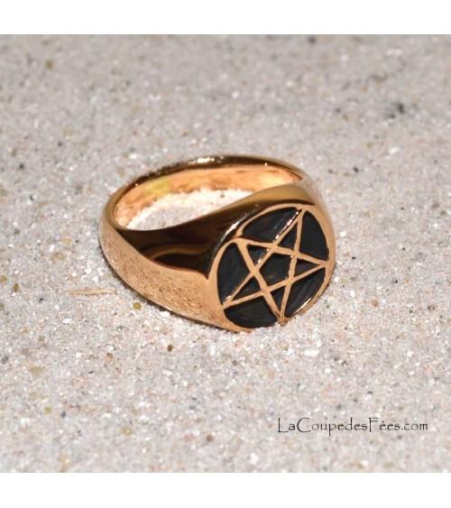 Anneau Pentagramme