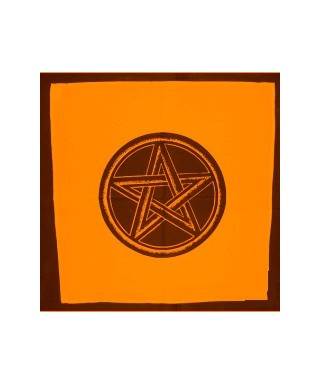 Nappe Pentagramme Orange