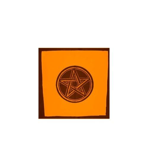 Nappe Pentagramme Orange