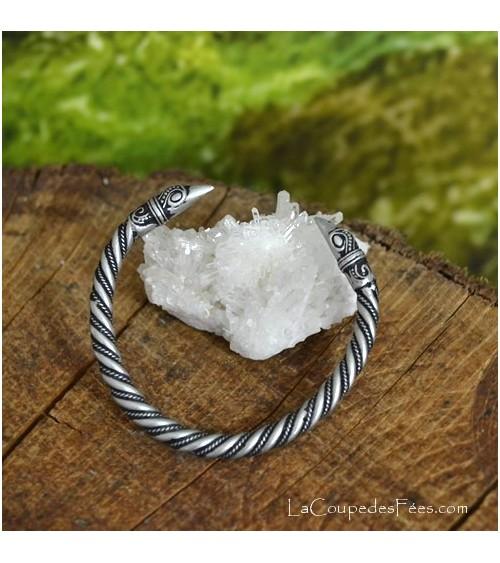 Bracelet Viking Tête de Corbeau