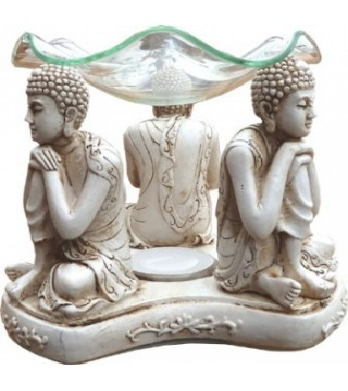 Bruleur Bouddhas Blanc
