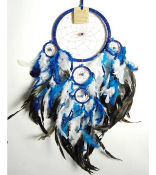 Attrape Rêves Bleu & Blanc