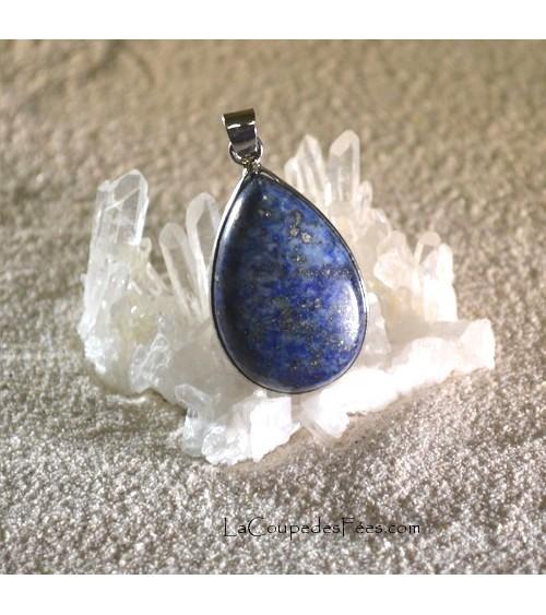 Pendentif Goutte Lapis Lazuli