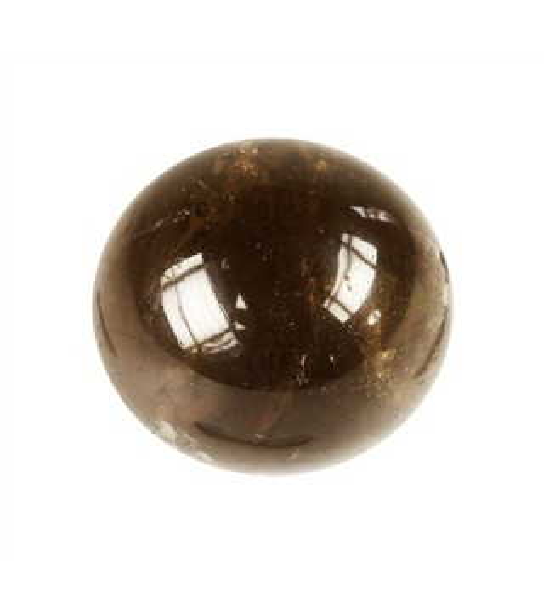 Sphère en Quartz Fumé