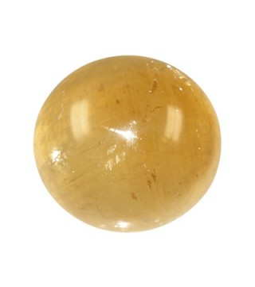 Sphère en Calcite Miel