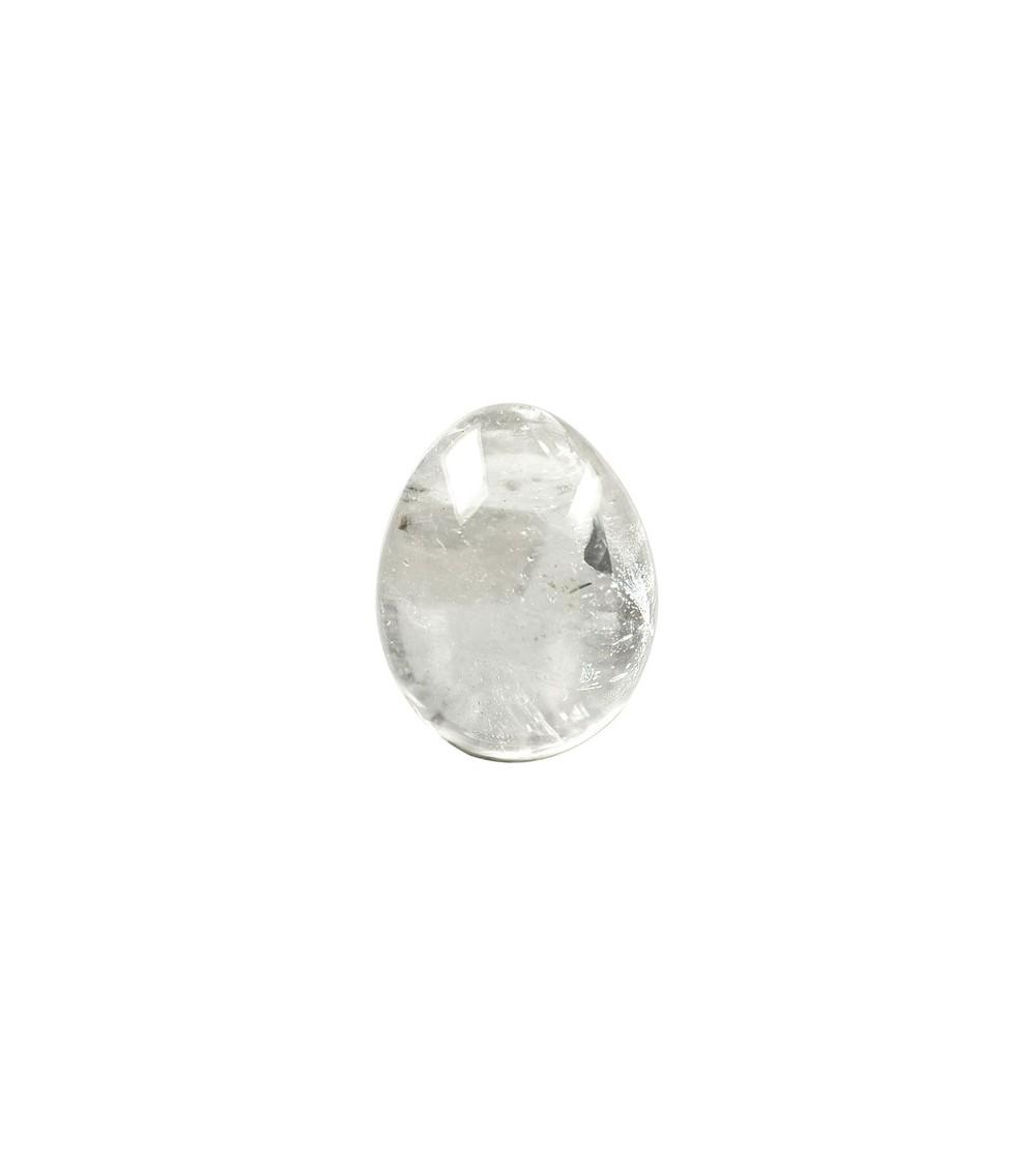 Oeuf en Cristal de Roche