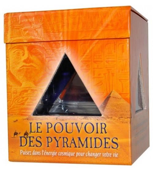 Le pouvoir des pyramides (Coffret livre + pyramide)