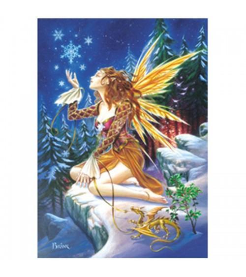 Carte Elfe de Noël