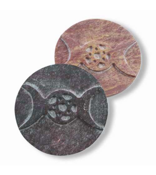 Plaque Triple Lune Sculptée